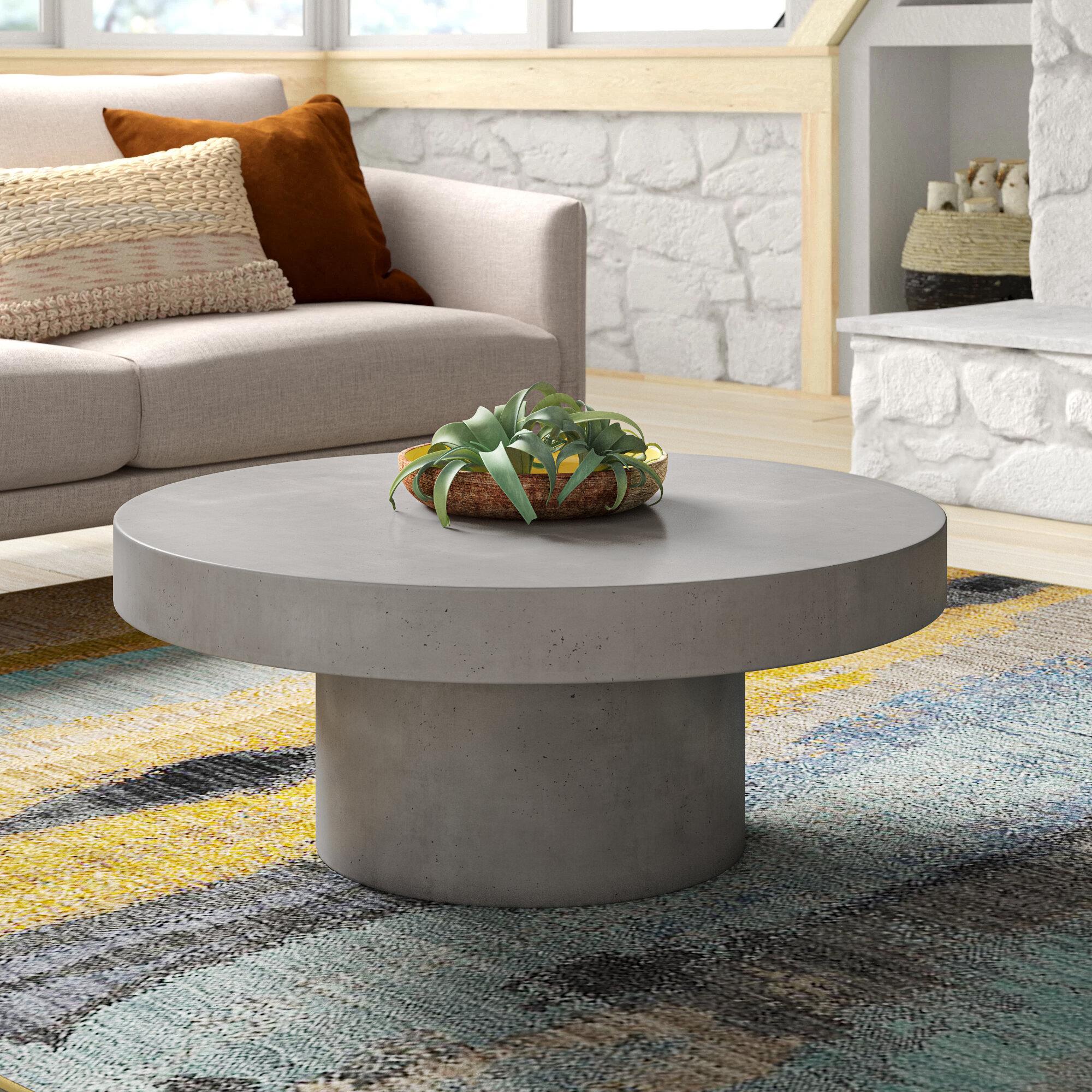 Guliana Drum Coffee Table Reviews Allmodern