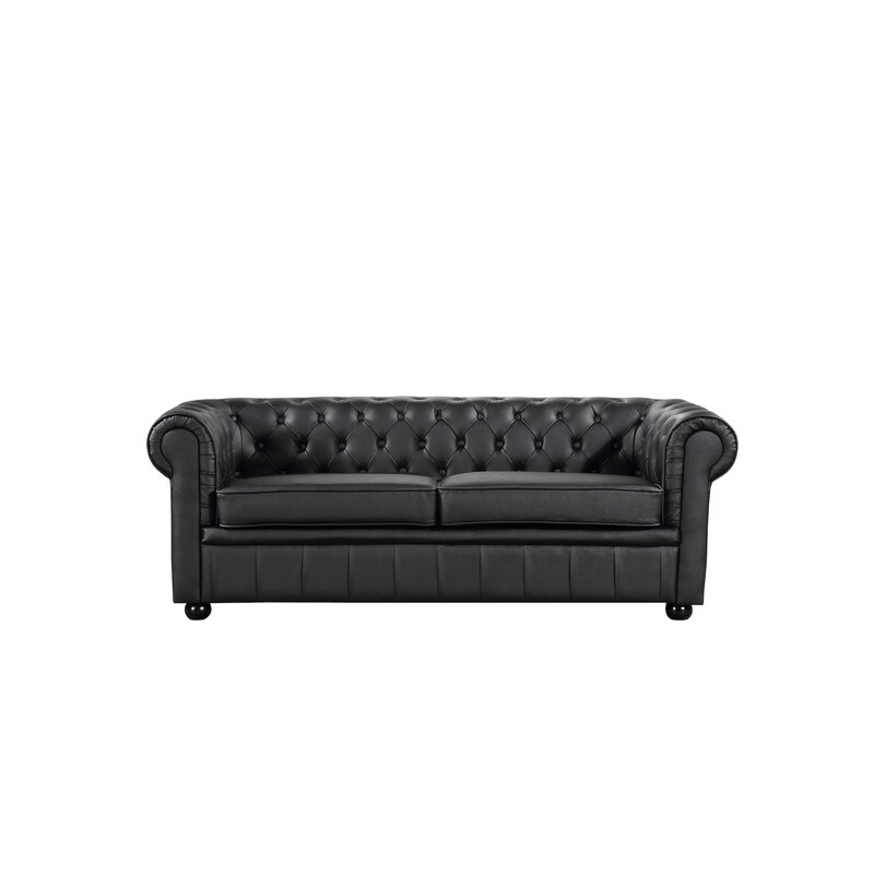 Rus Leather Chesterfield Sofa
