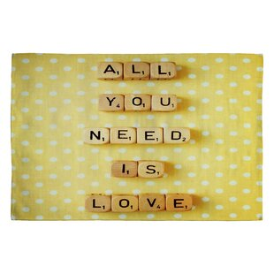Happee Monkee All You Need Is Love 1 Novelty Rug byDeny Designs