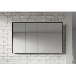 Kesington 120cm X 72cm Surface Mount Mirror Cabinet By Ebern Designs