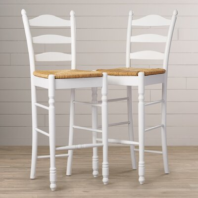 Terrific Winston Porter Shirk 30 Inch Ladder Back Bar Stool Frame Gmtry Best Dining Table And Chair Ideas Images Gmtryco