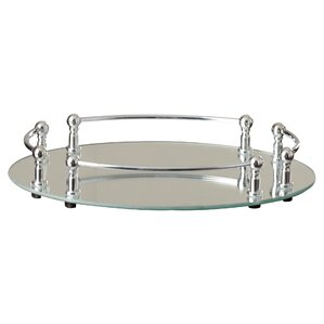 Bathroom Mirror Tray mirrored trays you'll love | wayfair