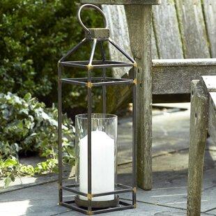 Metal Lantern by Melrose International