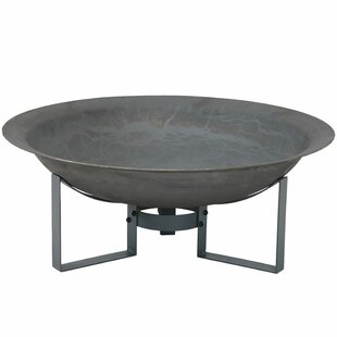 Union Rustic Buendia Rustic Bowl Cast Iron Wood Burning Fire Pit