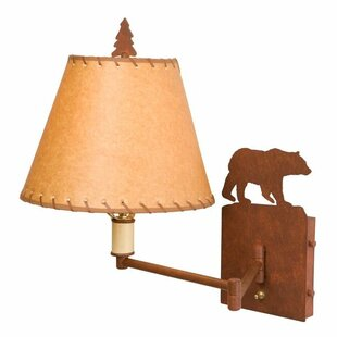 Steel Partners Bear Swing Arm Lamp