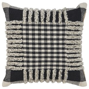 Churchwell Pinstripe Cotton Throw Pillow