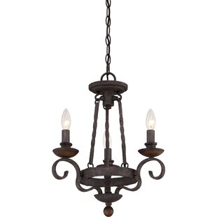 Affordable Allston 3-Light Candle Style Chandelier By Fleur De Lis Living