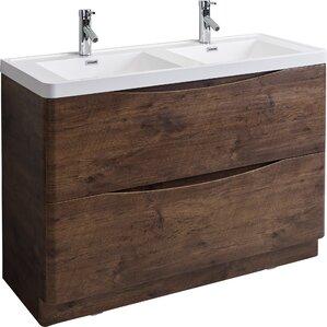48 Bathroom Vanity | Modern 48 Inch Bathroom Vanities Allmodern