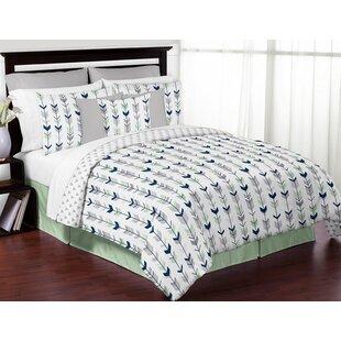 Sweet Jojo Designs Mod Arrow Reversible Comforter Set