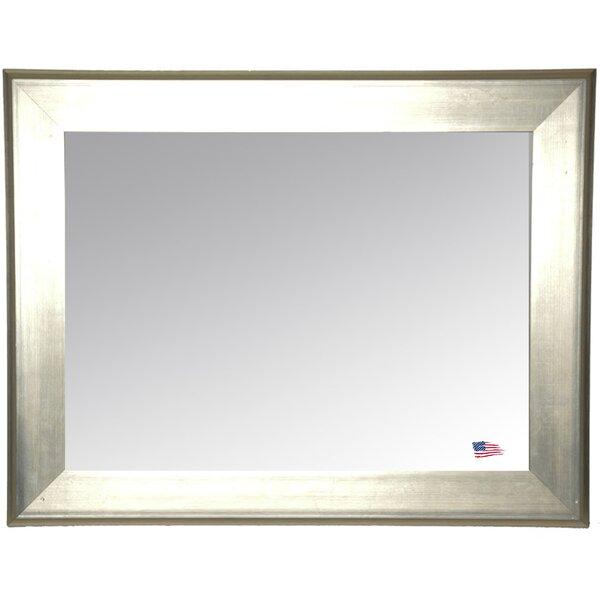 Rectangle Antique Silver Wall Mirror
