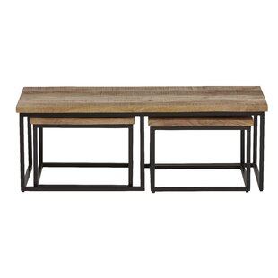 Dowdell 3 Piece Coffee Table Set By Williston Forge