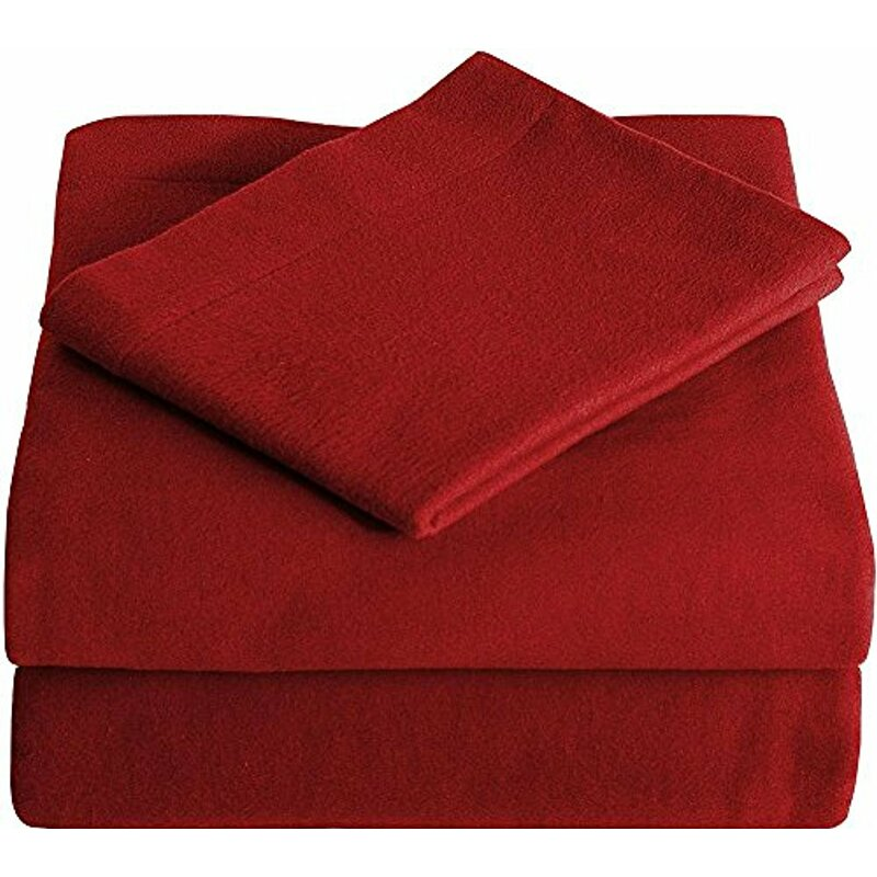 f434c28e748d Bare Home Super Soft 100% Cotton Flannel Sheet Set & Reviews | Wayfair