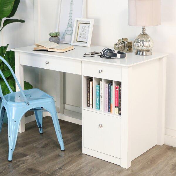 Beachcrest Home Clinton Computer Desk & Reviews by Beachcrest Home