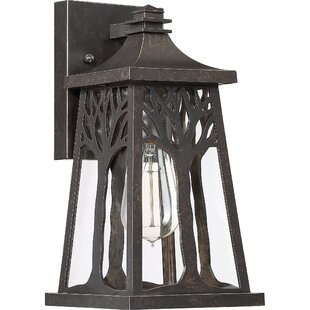 Compare prices Yeung Outdoor Wall Lantern By Millwood Pines