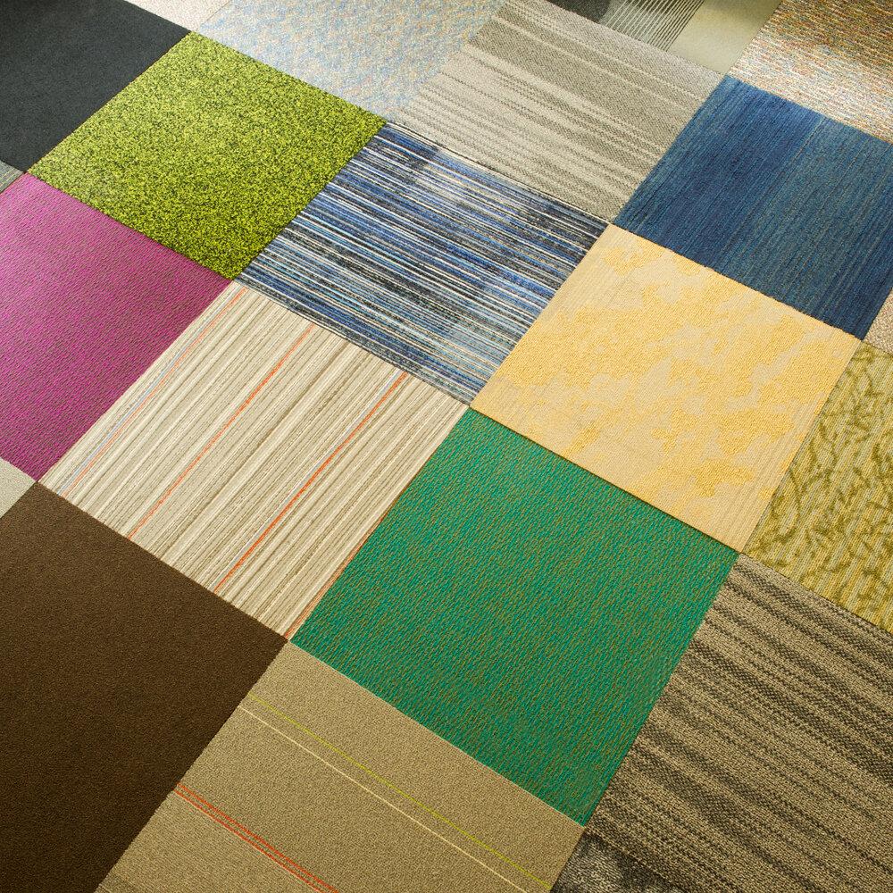 4urfloor Kaleidoscope 24 X Carpet Tile In Orted Reviews Wayfair