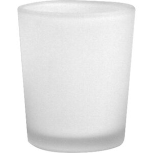 Frosted Glass Candle Holder (Set of 12)