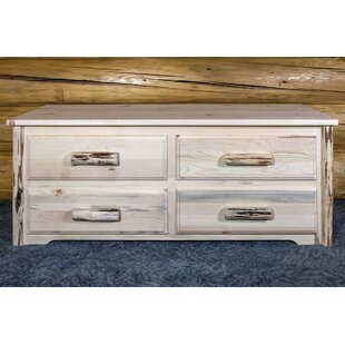 Abordale Sitting Chest, 4 Drawer by Loon Peak