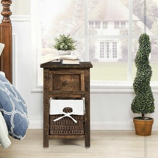 Holeman End Table with Storage