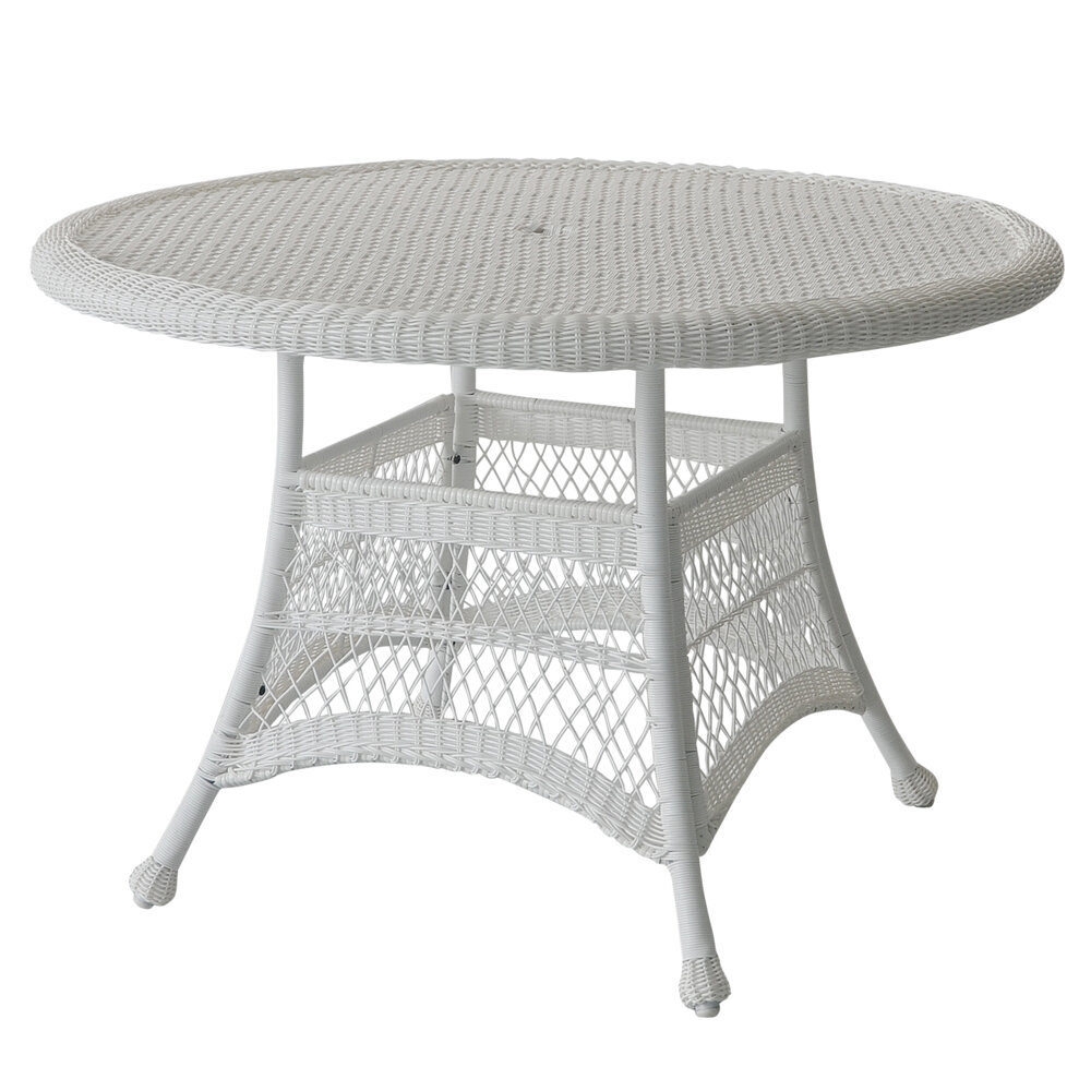 Starcher Wicker Rattan Dining Table