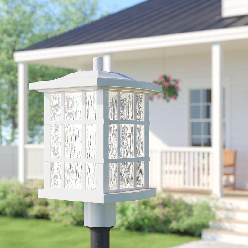 Sol 72 Outdoor Cayman Outdoor Fresco 1 Light 16 5 H Hardwired Lantern Head Reviews Wayfair