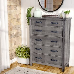 Gracie Oaks Catawissa 6 Drawer Chest