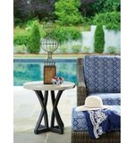 Del Mar Stone/Concrete Side Table