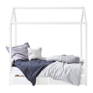 Ida Maria European Single House Bed By Hoppekids