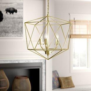 Mistana Todd 3-Light Geometric Chandelier