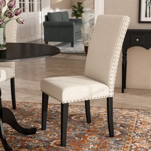 Huebert Upholstered Dining Chair by Charl..