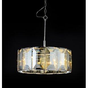 Brayden Studio Schaeffer Square 6-Light Pendant