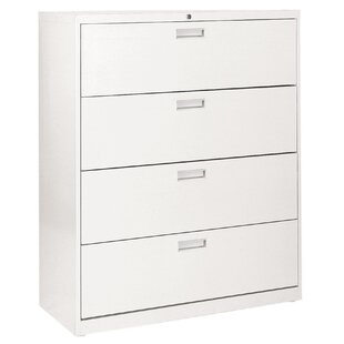 600 Series 4-Drawer Lateral Filing Cabinet by Sandusky Cabinets