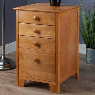 Red Barrel Studio Hilderbrand 4-Drawer Home Office File Cabinet