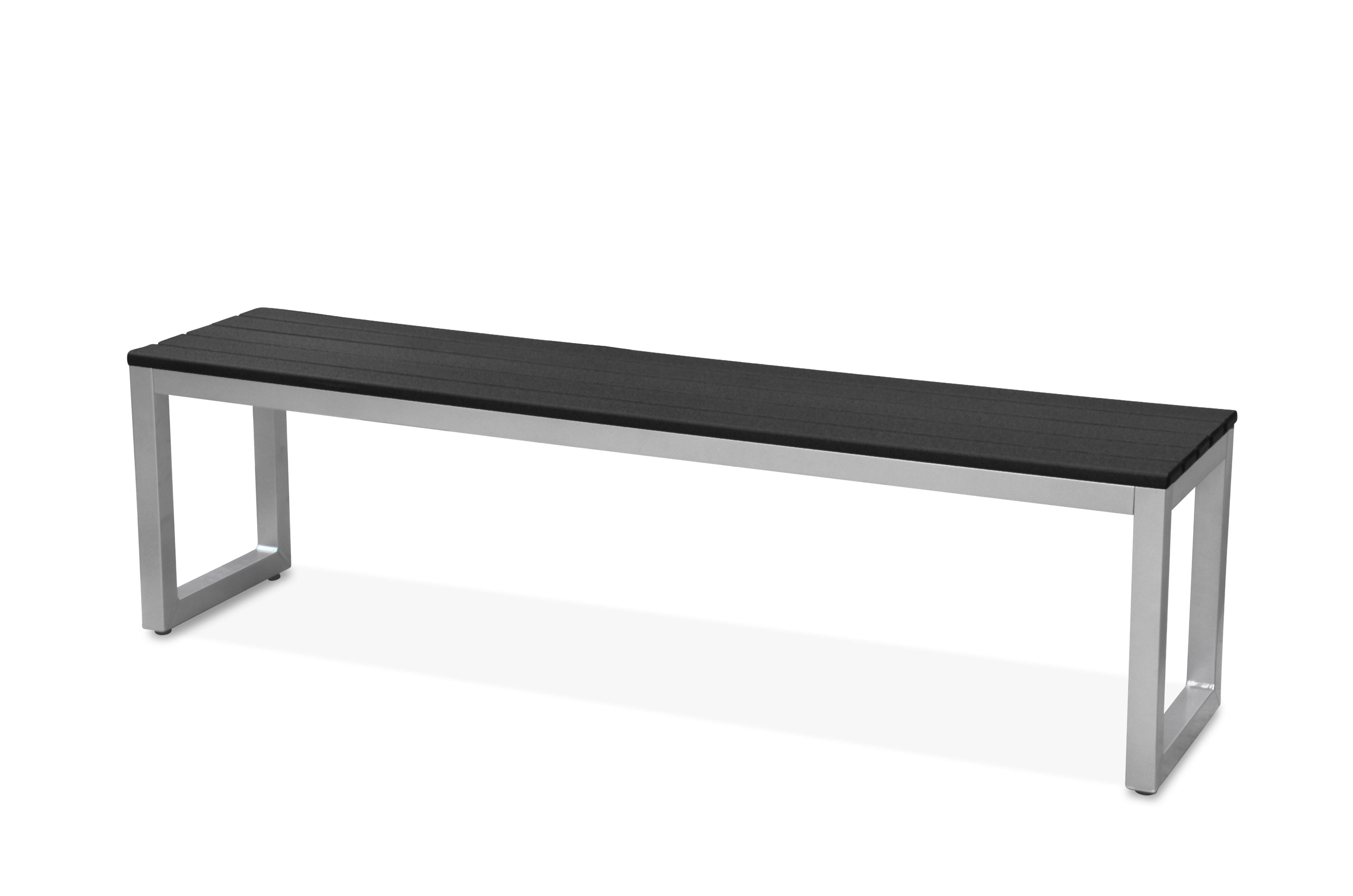 17 Stories Alissa Aluminium Picnic Bench Wayfair