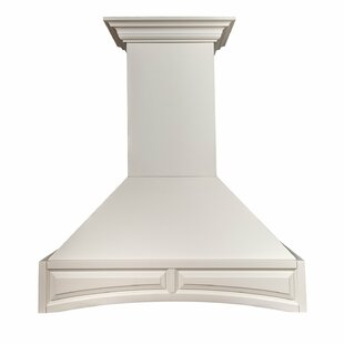 36 900 CMF Ducted Wall Mounted Wood Range Hood by ZLINE Kitchen and Bath