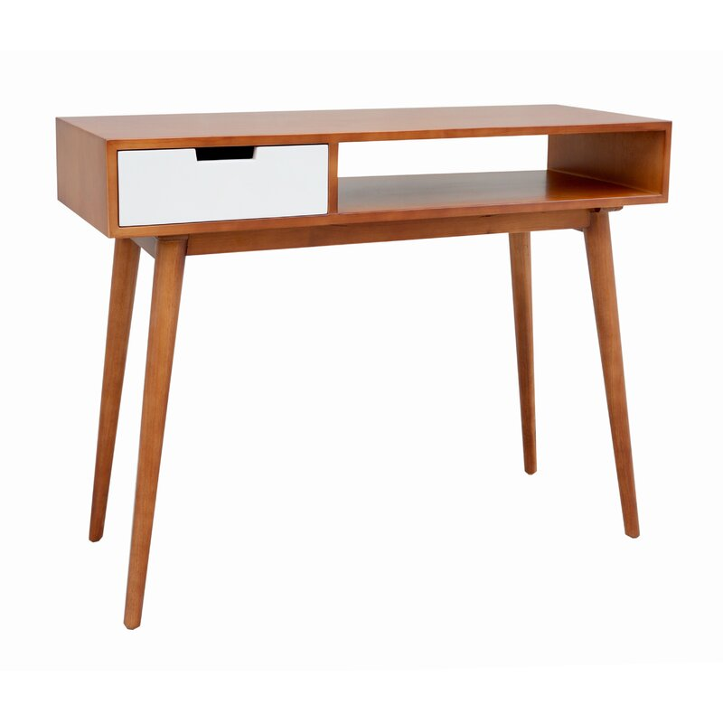 mid century console table George Oliver Brookline Mid Century Console Table | Wayfair mid century console table