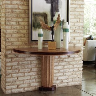 Global Views Taper Fluted Console Table