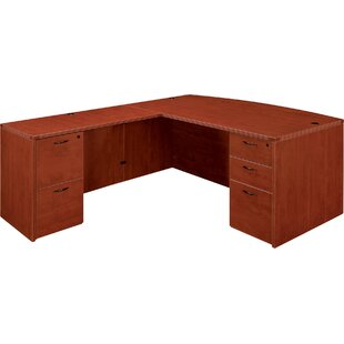 Fairplex Double Pedestals L-Shape Executive Desk