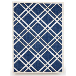 Maverick Royal Blue Indoor/Outdoor Area Rug