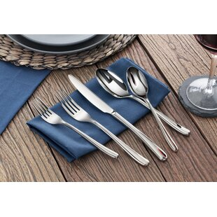 Rain II 20 Piece Flatware Set, Service for 4