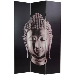 Bloomsbury Market Rothschild Buddha 3 Panel Room Divider