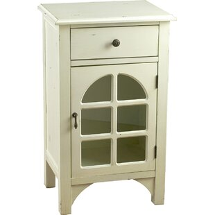 1 Drawer 1 Door Accent Cabinet by AA Importing