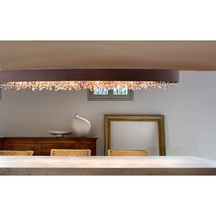 Masiero Ola 6-Light Semi Flush Mount