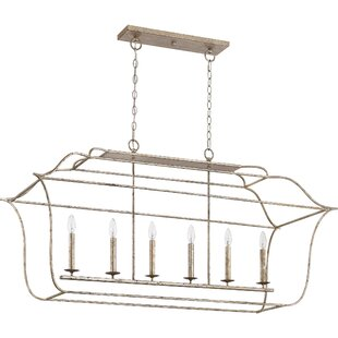 Gracie Oaks Byrd 6-Light Kitchen Island Pendant