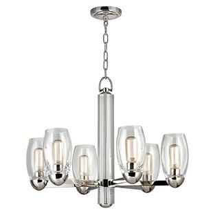 Brayden Studio Dillan 6-Light Shaded Chandelier