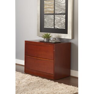Sit-Stand Series 2-Drawer Lateral File Cabinet by Haaken Furniture