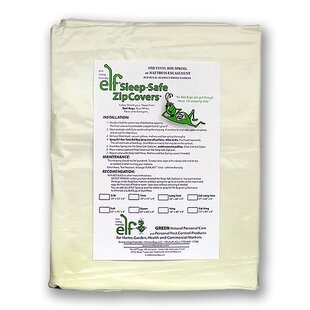 6 Gauge Reinforced Vinyl Box Spring Hypoallergenic Waterproof Mattress Protector