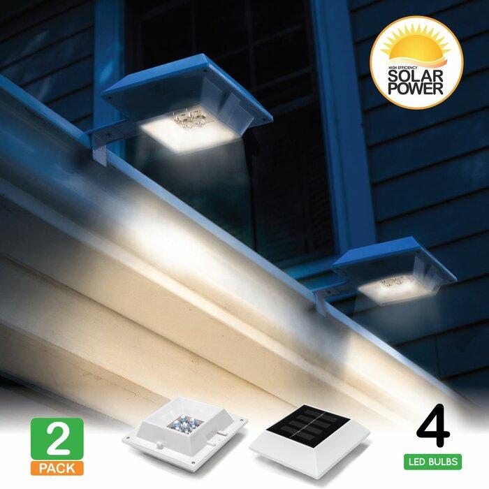 Lunalite Solar Ed Battery Led Deck Light Pack