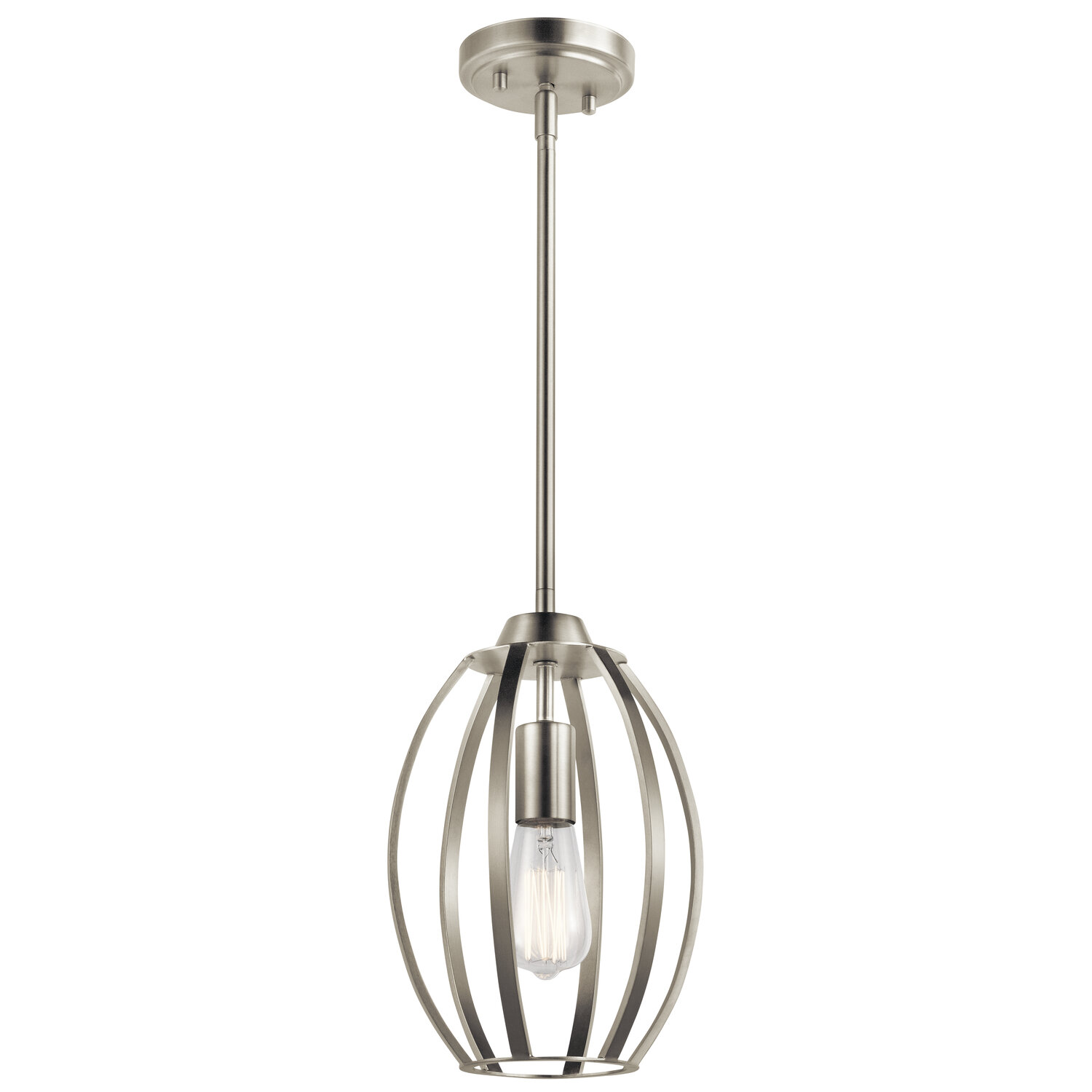 Brushed Nickel Geometric Pendant Lighting You Ll Love In 2021 Wayfair