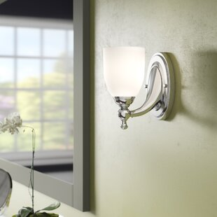 Read Reviews Nickerson 1-Light Bath Sconce By Charlton Home
