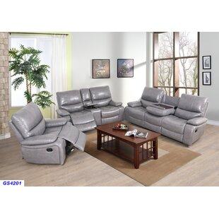 Jayvion 3 Piece Reclining Living Room Set by Red Barrel Studio